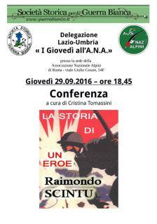 La storia di un eroe Raimondo Scintu