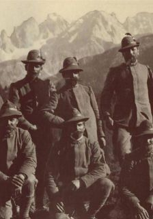 La Grande Guerra fin montagna