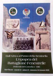 Dall'Africa al Passo della Sentinella l'epopea del Battaglione Fenestrelle